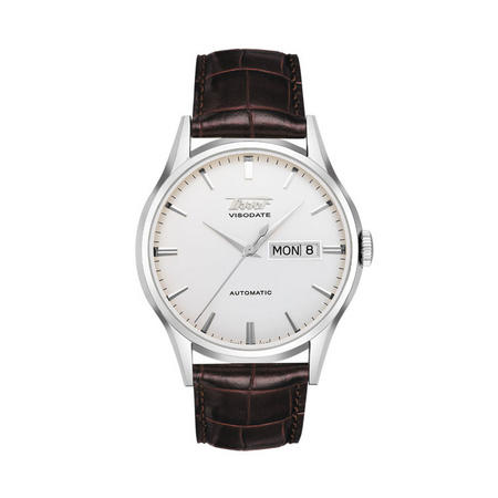 Heritage Visodate Automatic Watch Brown/Silver