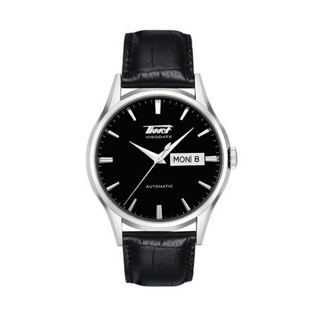 Heritage Visodate Automatic Watch Black