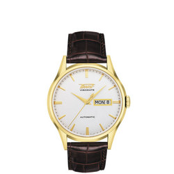 Heritage Visodate Automatic Watch Brown/Gold