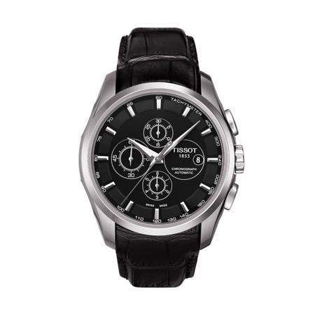 Couturier Automatic Chronograph Watch Black