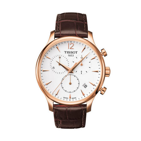 Tradition Chronograph Watch Brown