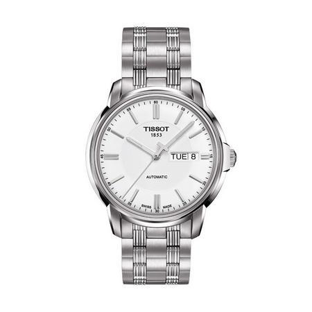 Automatics Iii Watch Steel/White