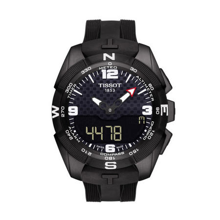T-Touch Expert Solar Watch Black