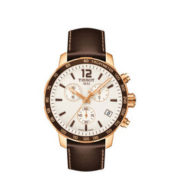 Quickster Chronograph Watch Brown/Gold