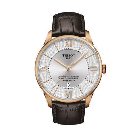 Chemin Des Tourelles Powermatic 80 Cosc Watch Brown/Gold