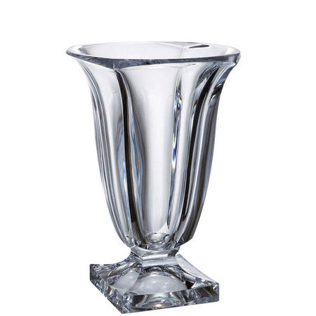 Tempest Vase 11.5 inch Clear
