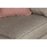 Tempest Sofa With Houndstooth Scatters Fawn