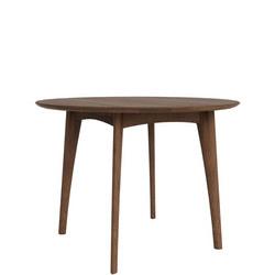 Osso 43030 120cm High Round Table Walnut