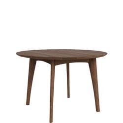 Osso 43031 120cm Round Table Walnut