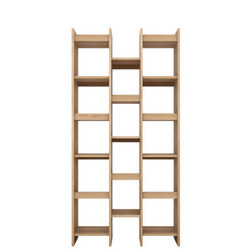 Mozaic 3 Row Rack Oak
