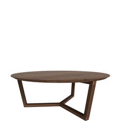 Tripod 44215 96cm Coffee Table Walnut