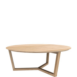 Tripod 50530 96cm Coffee Table Oak
