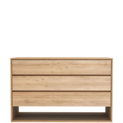 Nordic 51176 3 Drawer Chest Oak