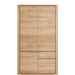 Shadow 51185 3 Doors + 2 Drawers Dresser Oak