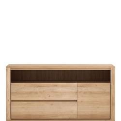 Shadow 51186 2 Drawers + 1 Door Oak