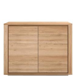 Shadow 51370 Two-Door Sideboard Oak