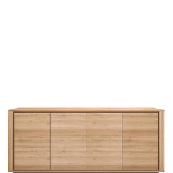 Shadow 51372 Four-Door Sideboard Oak