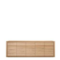 Shadow 51373 Five-Door Sideboard Oak