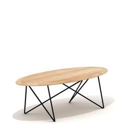 Oval Orb Coffee Table