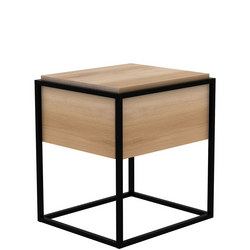 Monolit 26869 1 Drawer Table Black
