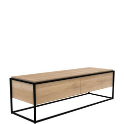 Monolit 26879 1+1 TV Unit Black