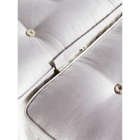 Tiara Superb Plain Set With Medium Tension Small Double Mattress
