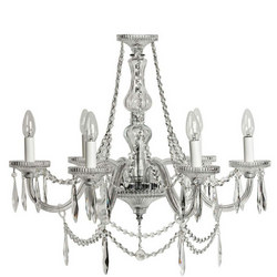 Eva 6 Arm Chandelier
