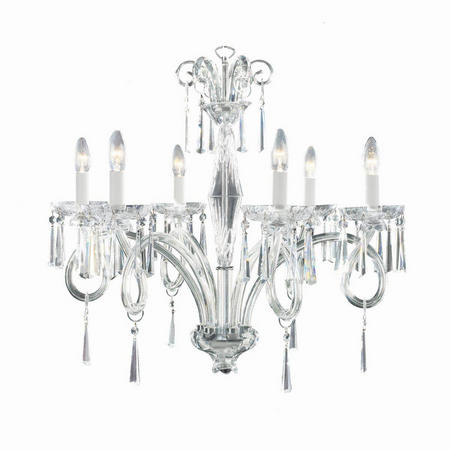 Elegance 6 Arm Chandelier