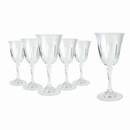 Tranquillity Set Of 6 Wine Glasses In Hat Box