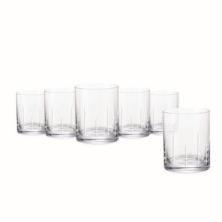 Tranquillity Set Of 6 Tumblers In Hat Box