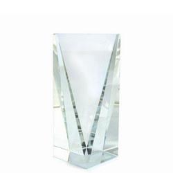 Causeway 6.5 Inch Crystal Trophy