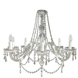 Clarissa 8 Arm Chandelier