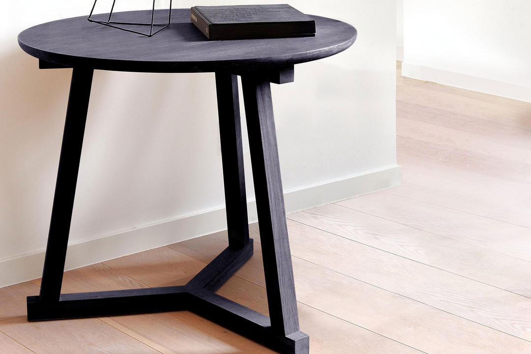Tripod Side Table Blackstone