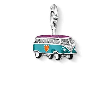 Vw Bus * Charm Silver