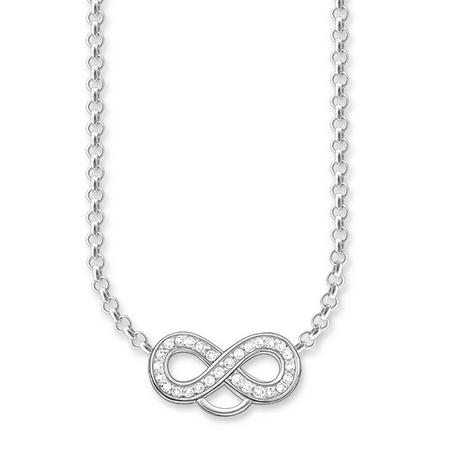 Infinity Charm Club Necklace