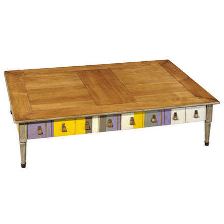 Jacob Stripe Large Coffee Table
