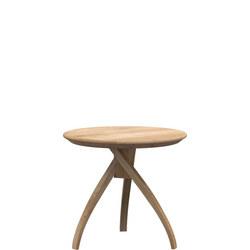 Twist Side Table Oak