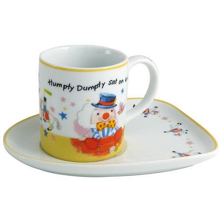 Humpty Dumpty Milk Cup & Biscuit Tray