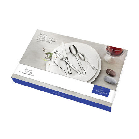 Victor 24-Piece Cutlery Set