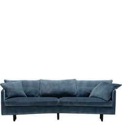 Julia Three Seater XL Round Sofa