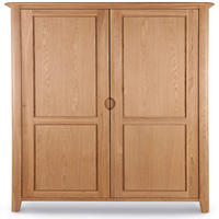 Grace Double Wardrobe Oak