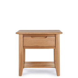 Grace Bedside Chest Oak
