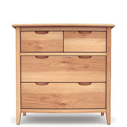 Grace 2+2 Drawer Chest Oak
