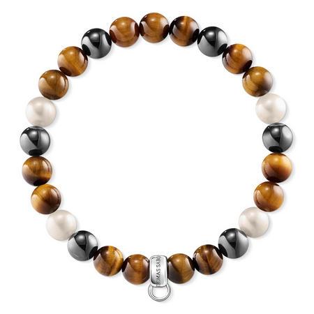 Sterling Silver & Freshwater Pearl Hematite Bracelet