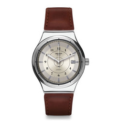 Sistem Earth Leather Watch Brown
