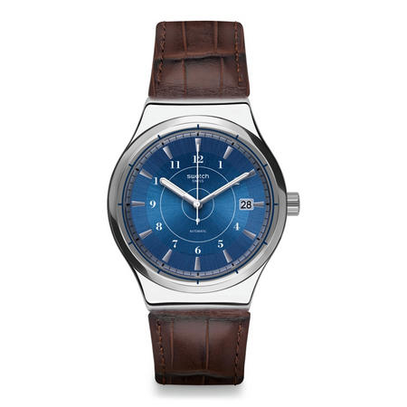 Sistem Fly Leather Watch Brown