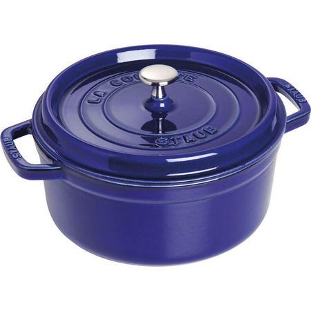 Round Cocotte Blue 24CM