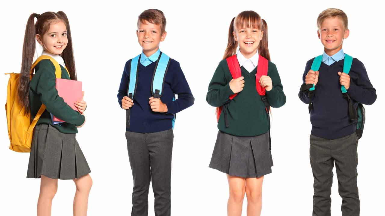 School Uniforms Size Guide