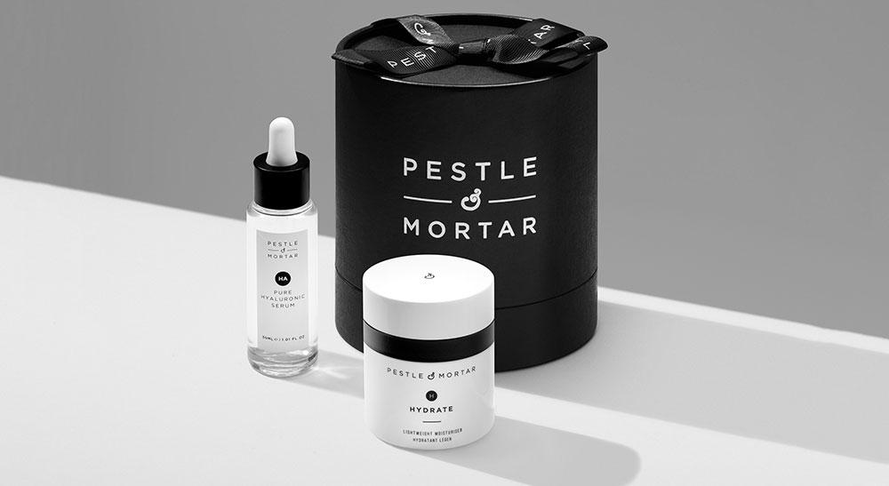 pestle mortar serum and hydrate