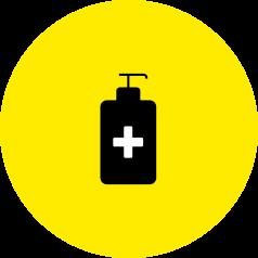 Hand sanitisers icon